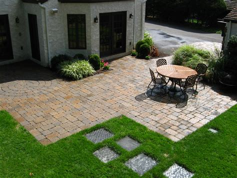 Landscape Ideas With Pavers Paver Patio Designs Landscaping Rberrylaw