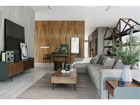 living room setting linear collection in a living room setting