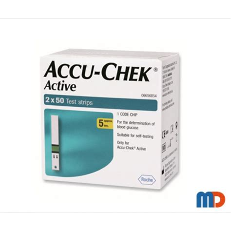 Unit Accu Chek Active buy accu chek active 100 test strips 1430 in india