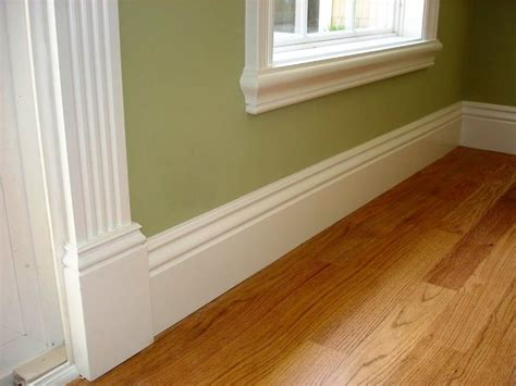 1 Inch Lumber For Floor And Wall Trim by Baseboard Molding Styles Custom Finish Carpentry Doors