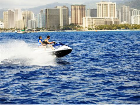 boat and jet ski values value combo oahu hot jet ski parasail banana boat