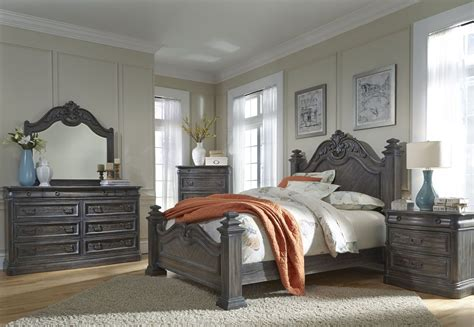 distressed oak bedroom furniture terracina distressed smokey oak panel bedroom set from