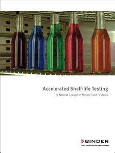 accelerated shelf study of food products best
