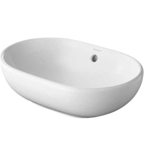 duravit bathroom sinks duravit 0335500000 foster 19 1 2 quot vessel bathroom sink