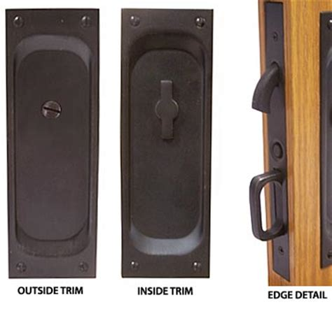 Emtek Products Inc 2105 Us15 1 75thk Emtek Solid Brass Mortise Pocket Door Privacy Latch Emtek Hardware Templates