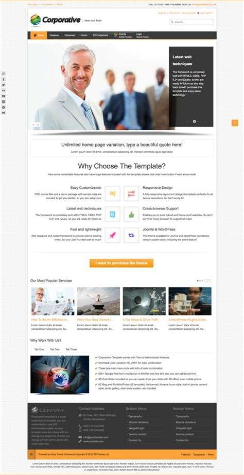 joomla template creator open source 28 images 10 best awesome joomla business template images on