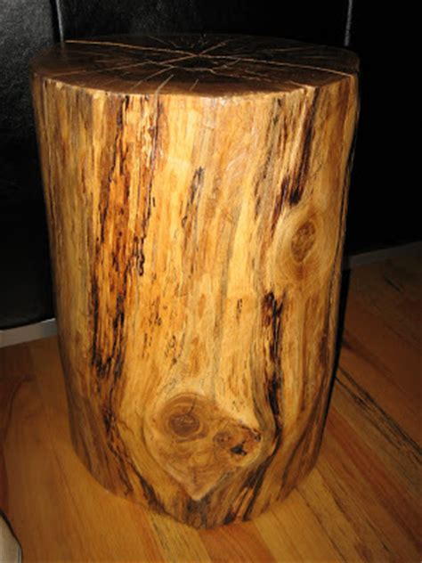 Tree Stump End Table by How To Make A Tree Stump End Table Abrentisart