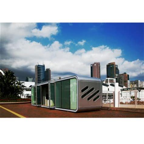 pod house design alpod futurustic aluminum pod house