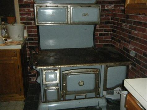Wood Burning Kitchen Stove by Copper Clad Wood Burning Kitchen Stove Antique Appraisal