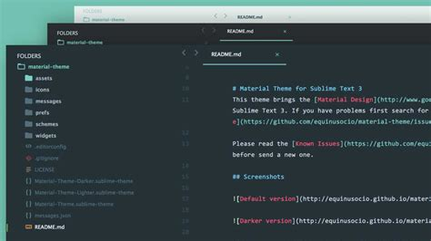Sublime Text 3 Font Theme | develop in style with sublime text and atom editor themes