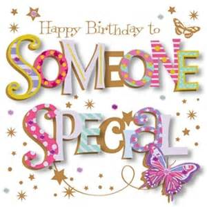 happy birthday to someone special card home from nicholls uk