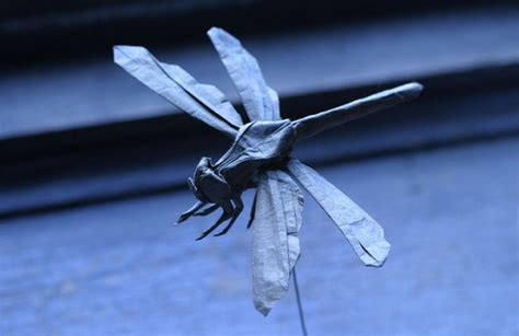 Fly Origami - delicate origami creative awesomenator