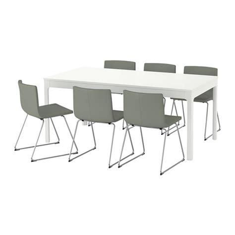 Meja Dan Kerusi Komputer ekedalen bernhard meja dan 6 kerusi ikea