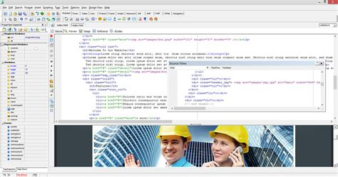 html design maker website builder html editor by web design land
