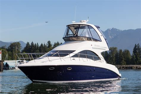sea ray boats for sale vancouver sea ray 36 sedan bridge 2007 used boat for sale in