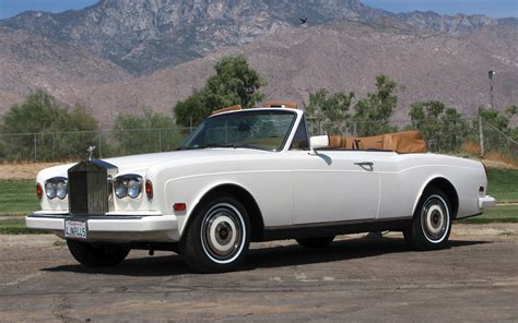 rolls royce corniche 1987 rolls royce corniche ii stock r445 for sale near