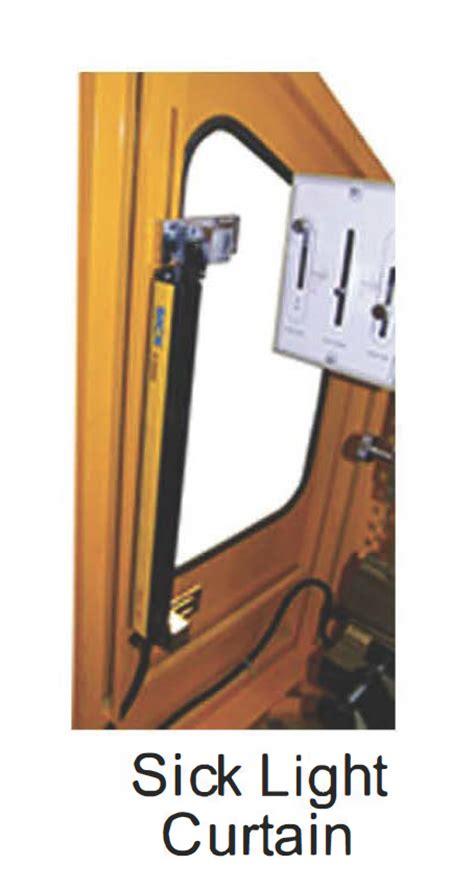 sick light curtain 6 x 44 ton new us industrial press brake hydraulic in