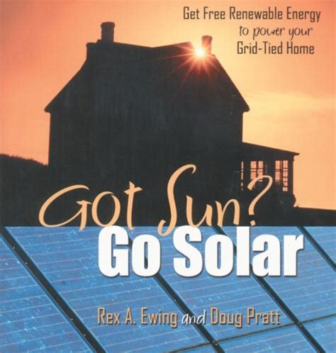 how to go solar at home landing page for got sun go solar book