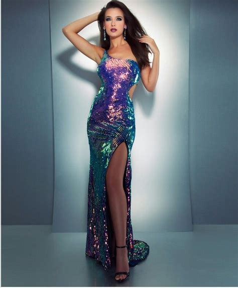 chagne colored cocktail dress unique multi colored sequin dress homecoming prom