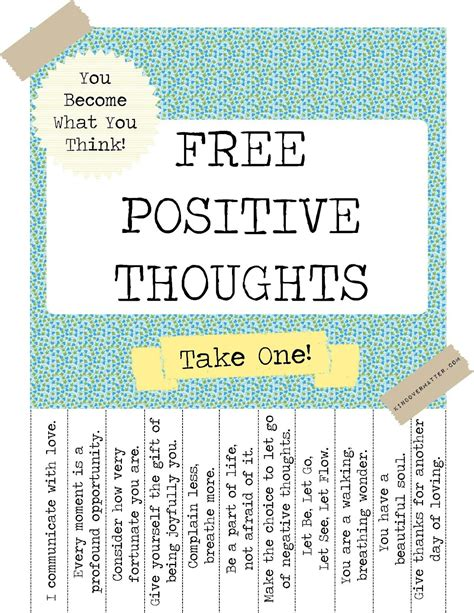 printable health quotes musical bits and techie bytes positive thoughts