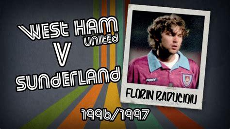 Dvd 1996 All The Goals florin raducioiu west ham v sunderland 96 97 retro