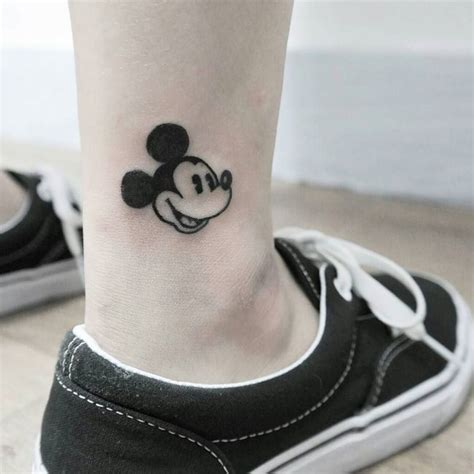 mickey mouse tribal tattoo 65 classic mickey and minnie mouse ideas