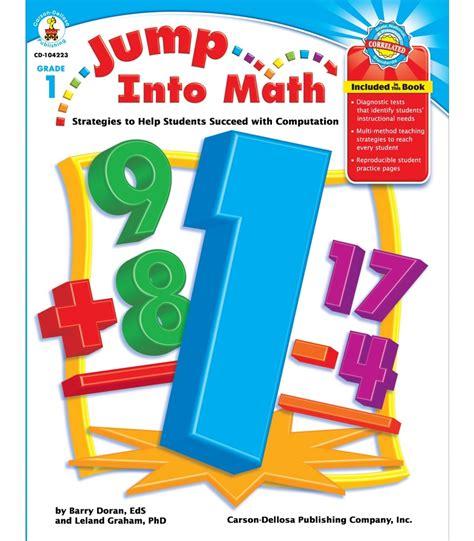 pictures of math books jump into math resource book grade 1 carson dellosa