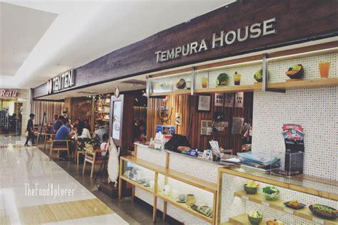 tempura house bukan sekedar menu baru di ten ten tempura house