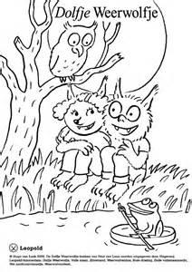 dolfje weerwolfje kleurplaat boeken kleurplaten free prints animal crafts