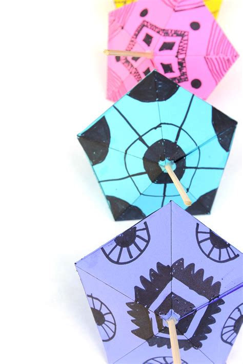 Make Paper Toys - simple paper toys paper tops babble dabble do