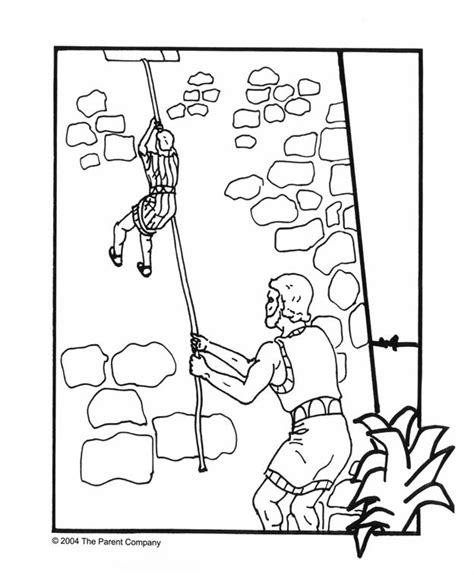 coloring pages of rahab and the spies she said that the