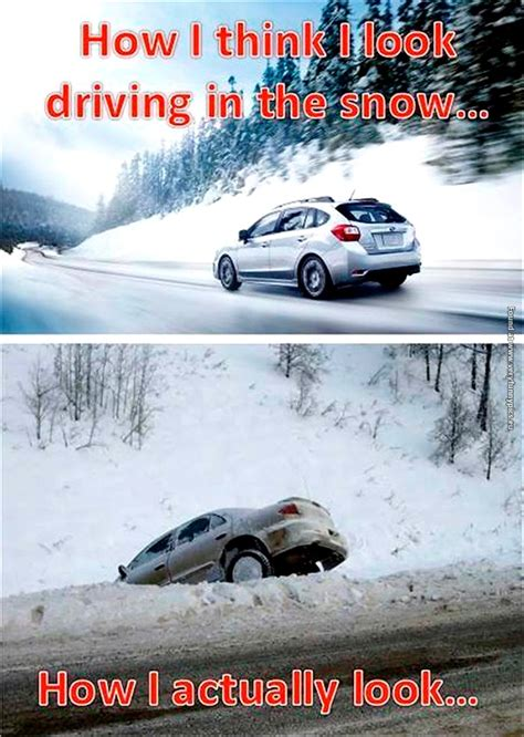 Driving In Snow Meme - driving in the snow imglulz funny pictures meme lol
