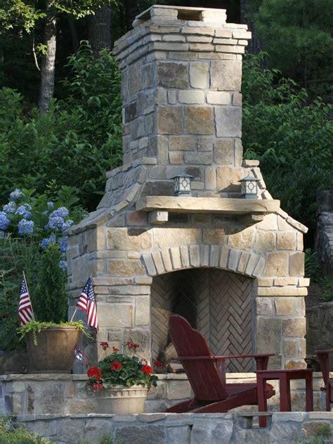 outdoor fireplace installation winning creative living