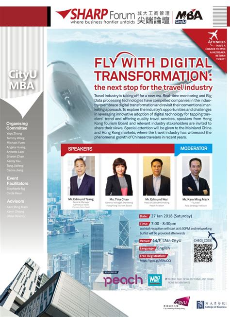 Mba Digital Transformation by Sharp Forum Mba Cityu