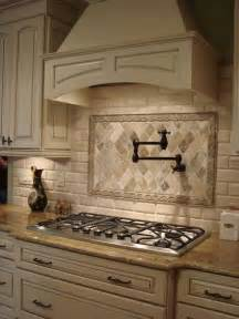 Copper Backsplash Tiles For Kitchen Stove Faucet Backsplash Contrast Custom Cabinets