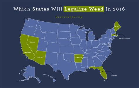 states with legal weed which states will legalize weed in 2016 weed reader