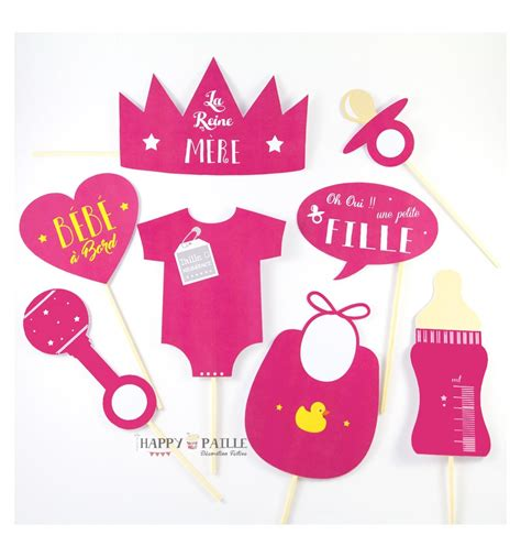 Accessories For Baby Shower by Photobooth Baby Shower Fille Accessoires Photos Future Maman