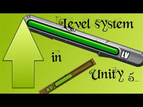 unity tutorial brackeys unity 5 tutorial how to make a level and xp system with