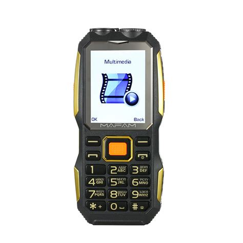 mobile m2 mafam m2 2 4 inch 4000mah uhf walkie talkie dual sim card