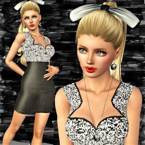 Rosela Set Dress 17 best images about sims 3 clothes on dress