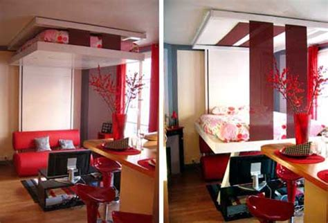 Ceiling Mounted Bed by Bedup Ceiling Mounted Murphy Bed Saves Space Looks Cool