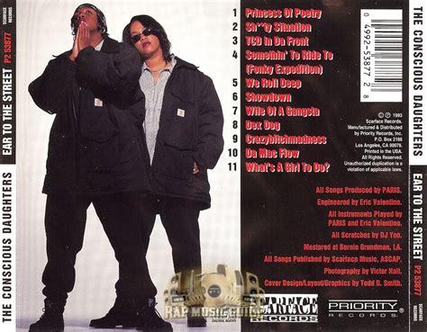 the conscious daughters the conscious daughters ear to the street cds rap