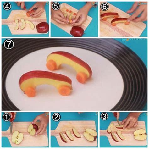 cara membuat mobil dari kardus pasta gigi cara membuat garnish dari buah apel bentuk mobil