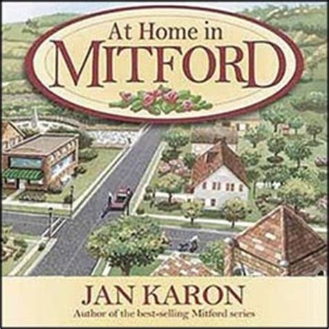 at home in mitford audio book cds audio orig