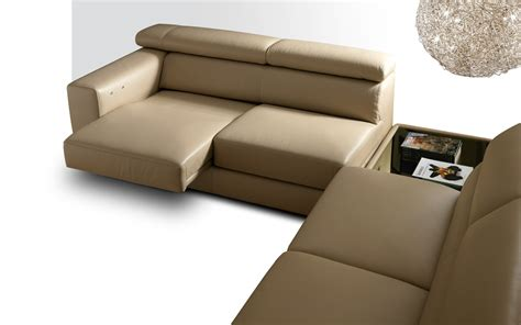 Recliner Brand Names by Nicoline Armonia Sofa Beige Leather Furniture From Leading European Manufacturers