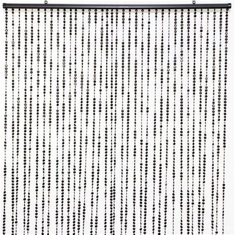 Rideau De Perles Ikea by Rideau De Porte 90 X H220 Cm Perles Facettes Noir