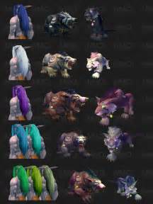 worgen druid colors new druid forms color charts