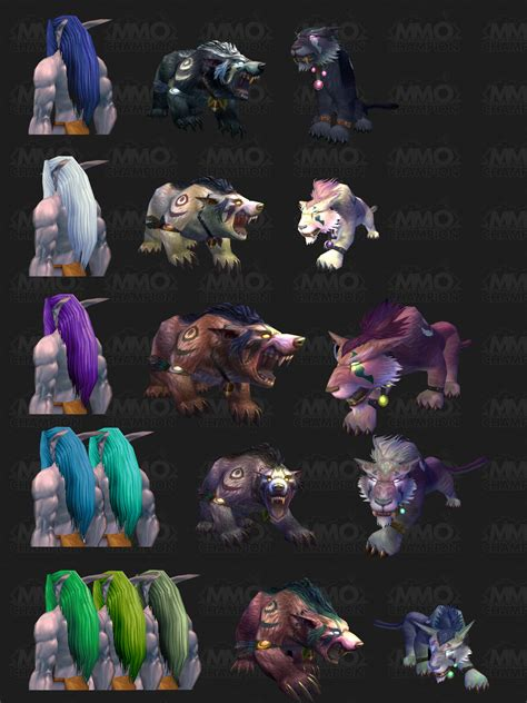 new druid forms color charts psynister s notebook