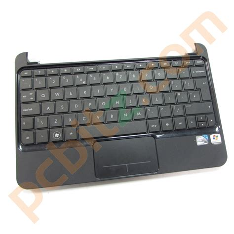 Touchpad Hp Mini hp mini 210 1000 palmrest touchpad and keyboard 597722