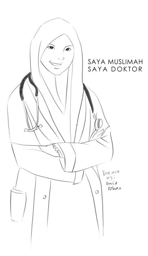 muslimah doctor by sifarih on deviantart